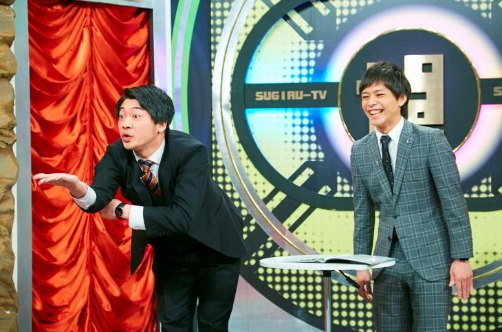 「なるみ・岡村の過ぎるTV」に出演する、さや香。(c)ABC