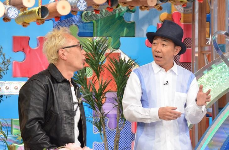 左から所ジョージ、木梨憲武。(c)日本テレビ