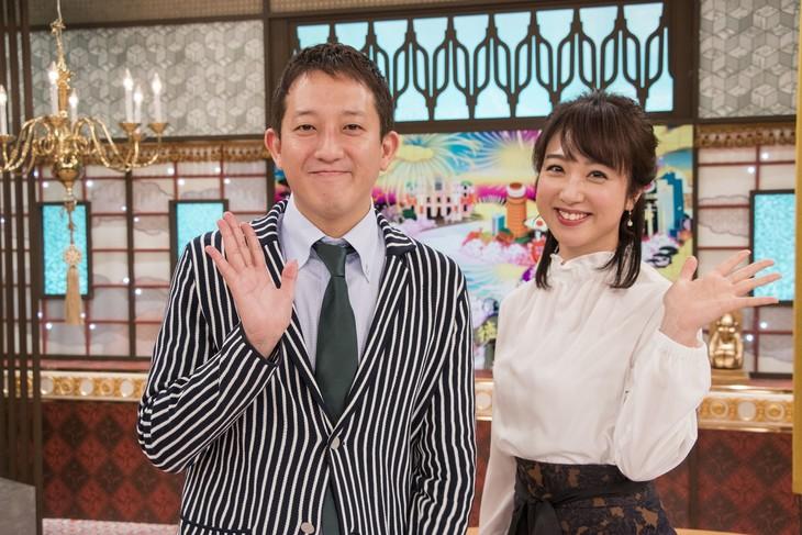 左からサバンナ高橋、川田裕美。(c)テレビ大阪