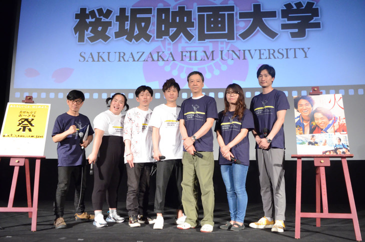 バッファロー吾郎・竹若、ゆりやんレトリィバァ、2丁拳銃、板尾創路、相席スタート(左から)。