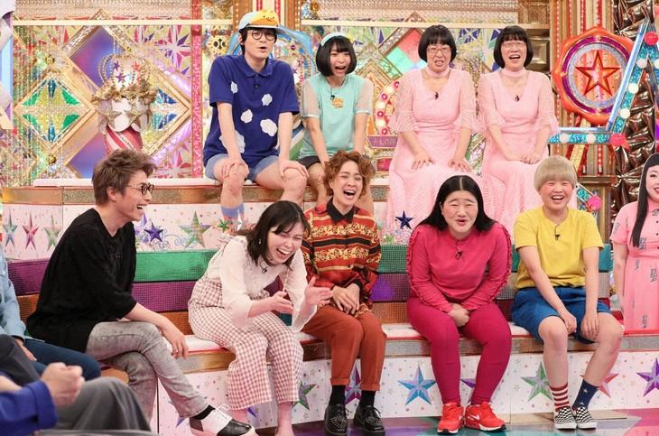 「金曜★ロンドンハーツ」の「女芸人ドッキリスター大賞」のワンシーン。(c)テレビ朝日