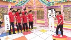 チーム対決企画のワンシーン。(c)中京テレビ
