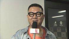「本能Z」の「本能ザLIVE」コーナーに出演するシソンヌ長谷川。(c)CBC