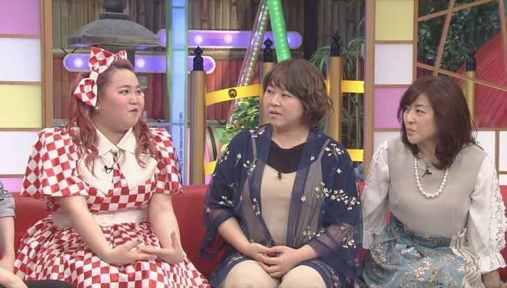 「本能Z」にゲスト出演する(左から)アユチャンネル、やしろ優、松本明子。(c)CBC
