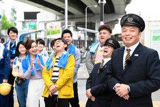「鉄オタ選手権~阪神電車の陣~」のロケの様子。(c)NHK