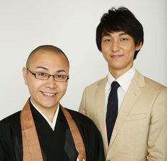 ドドん。左から、石田、安田。