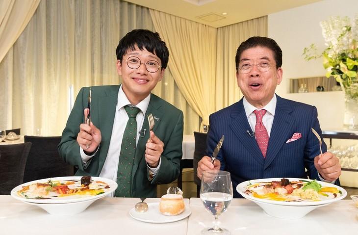 「きよしのまるごといただきます!2018春・淡路島」に出演する(左から)ミキ亜生、西川きよし。(c)ABC