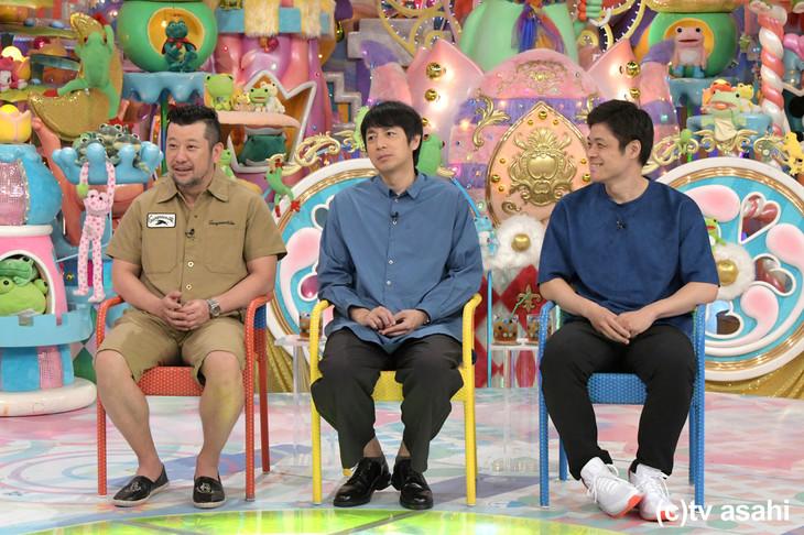 「激ヤバ黒DVD」に出演するケンドーコバヤシ、チュートリアル徳井、ニブンノゴ!宮地。