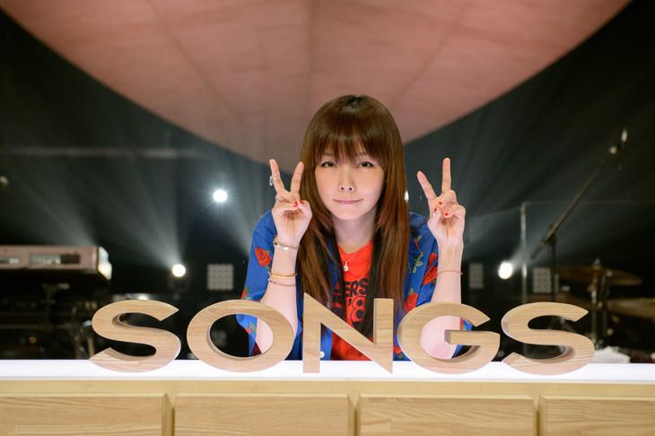 「SONGS」でスペシャルライブを展開するaiko。(c)NHK