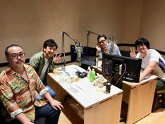 副音声収録に臨んだ東京03とオークラ(左)。
