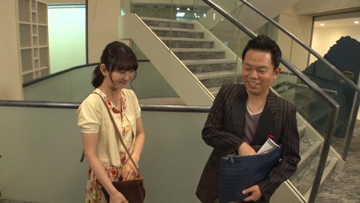 「東京らふストーリー」に出演する、ダイアン津田(右)。(c)テレビ朝日