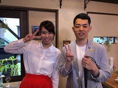(左から)紺野ぶるま、濱田祐太郎。(c)関西テレビ