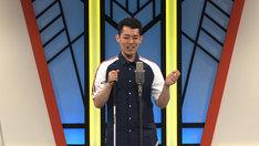 番組の最後に漫談を披露する濱田祐太郎。(c)関西テレビ