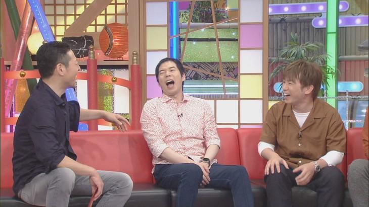 「本能Z」に出演する(左から)東野幸治、今田耕司、よゐこ濱口。(c)CBC