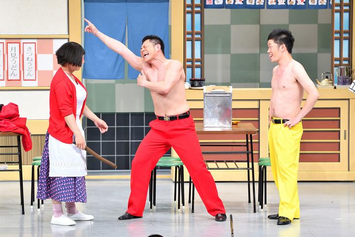 左からすっちー、太田芳伸、吉田裕。(c)MBS