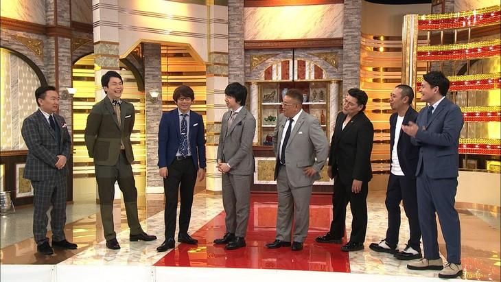 「イッテンモノ」に出演する(左から)かまいたち、三四郎、サンドウィッチマン、千鳥。(c)テレビ朝日