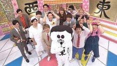 「前略、西東さん」の出演芸人たち。(c)中京テレビ