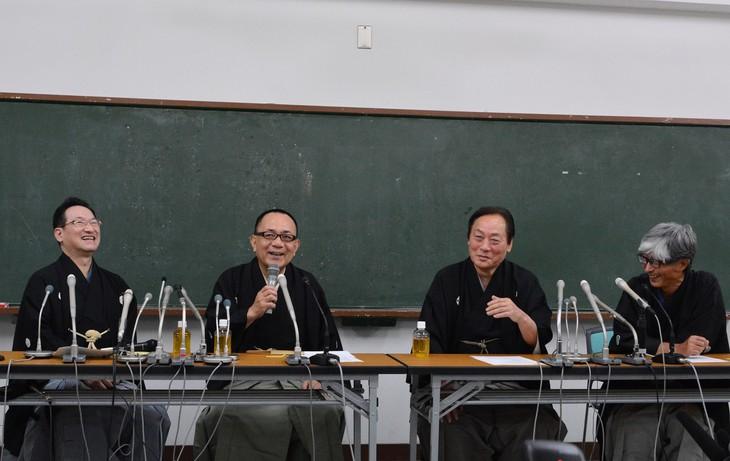 お笑いナタリー            「落語と笑点が大好きな師匠でした」昇太、小遊三、米助、歌春が会見で歌丸偲ぶ