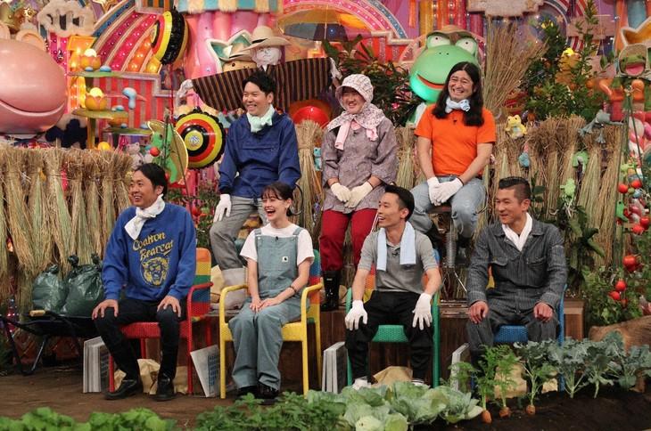 「日曜もアメトーーク!」に集結する「実家が農家芸人」。(c)テレビ朝日