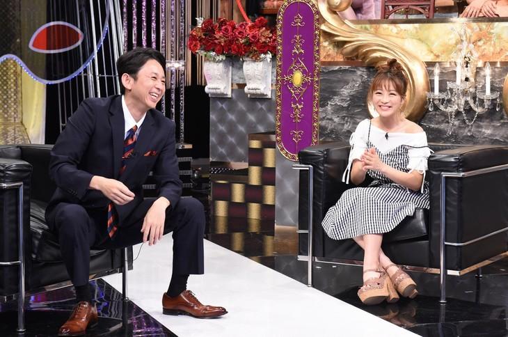 左から有吉弘行、鈴木奈々。(c)日本テレビ