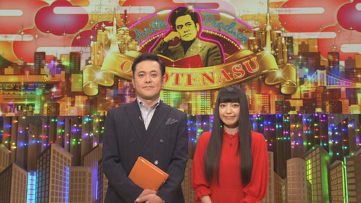 有田P(左)とmiwa(右)。(c)NHK