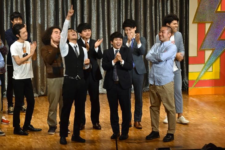 「お笑いハーベスト大賞2018」で優勝したハナコ。