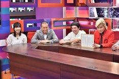 カズレーザー(右)によるプレゼンのワンシーン。(c)中京テレビ