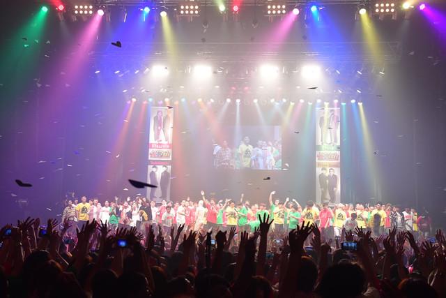 「大阪チャンネル presents もっとも~~~っとマンゲキFESーオモろくてアツすぎるZepp Nambaの日ー」の様子。