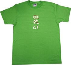 金色ロゴ仕様の「旅猿」東野Tシャツ。