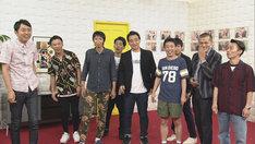 番組ごと丸投げされるアンガールズ、カミナリ、さらば青春の光、ジャングルポケットの4組。(c)NHK
