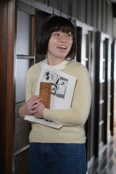 尼神インター誠子演じる水野英子。(c)日本テレビ