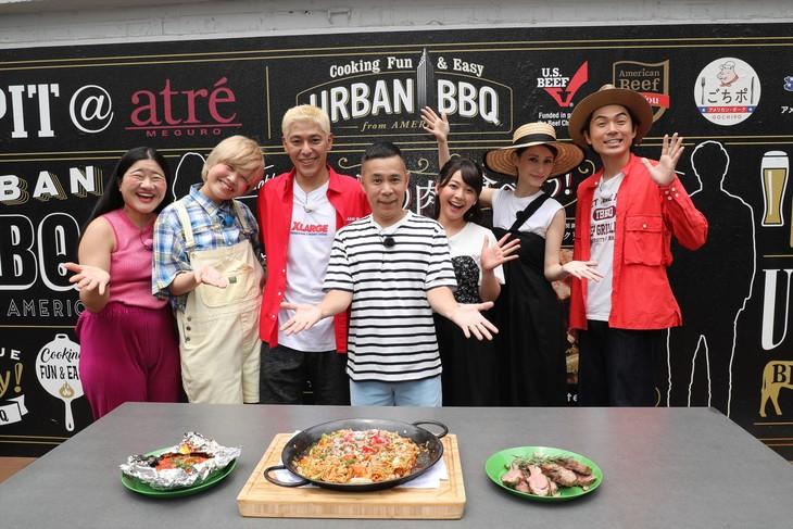 「おかべろ 夏SP」の出演者たち。(c)関西テレビ