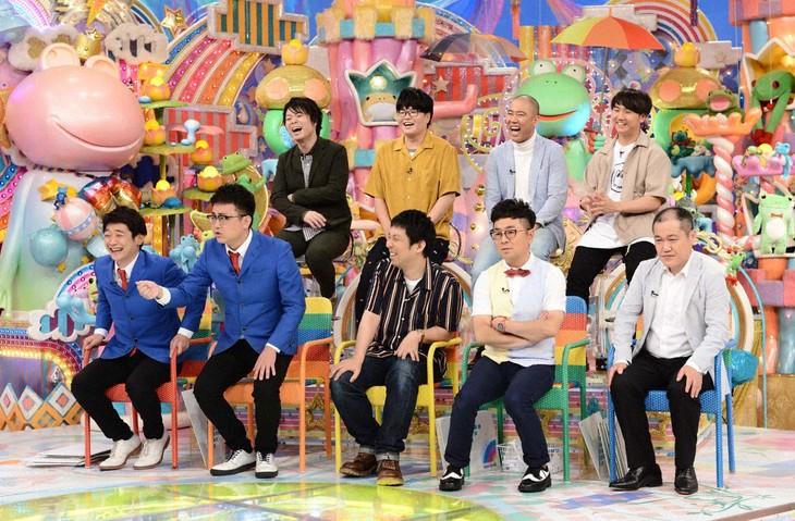 「アメトーーク!」に集結する「悲しきチャンピオン芸人」たち。(c)テレビ朝日
