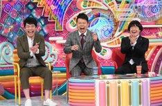 (左から)麒麟・川島、雨上がり決死隊。(c)テレビ朝日