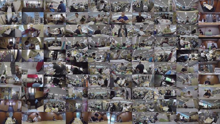 「のぞき見ドキュメント 100カメ」のワンシーン。(c)NHK