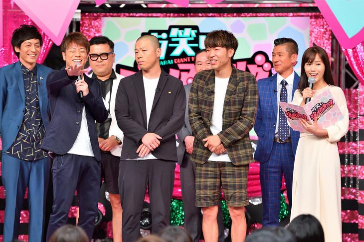 「お笑いジャイアントキリング~しばり漫才王決定戦~」より。(c)MBS