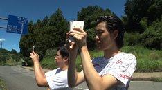 「麒麟・川島の#ハッシュタグバトルツアー」のワンシーン。(c)読売テレビ
