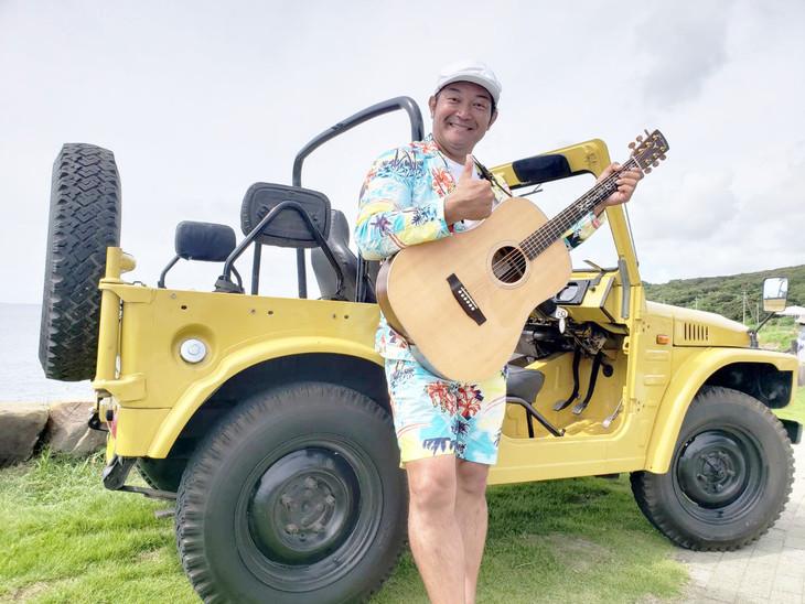 「空とギターとぐっさんと2018」に出演する山口智充。(c)関西テレビ