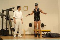 「エンタの神様」2006年出演時のレイザーラモン。(c)日本テレビ