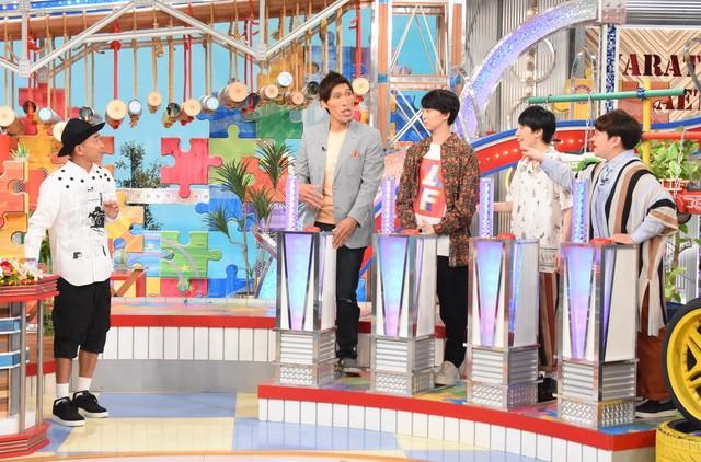 「笑ってコラえて!秋祭り」のワンシーン。(c)日本テレビ