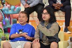 (左から)出川哲朗、ロッチ中岡。(c)テレビ朝日