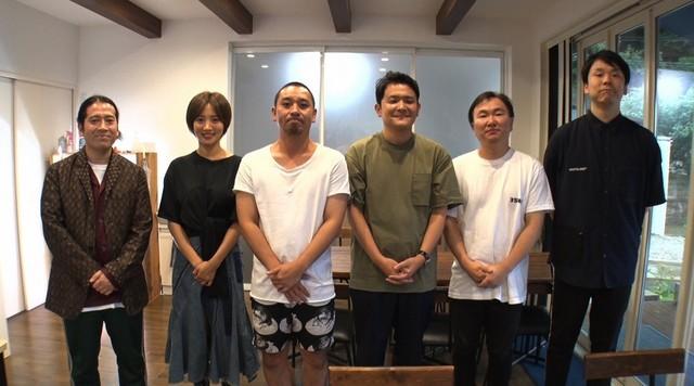 左からピース又吉、夏菜、千鳥、かまいたち。(c)日本テレビ