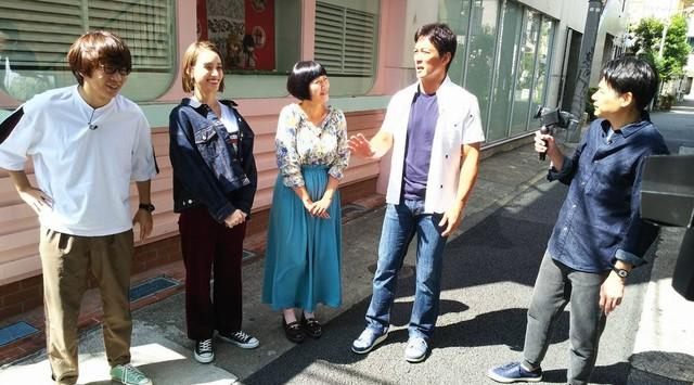 「チーム長嶋一茂」のワンシーン。(c)日本テレビ