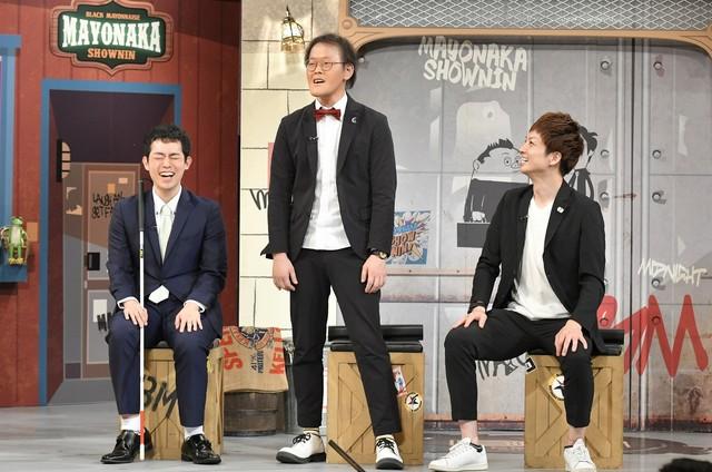 左から濱田祐太郎、アインシュタイン。(c)読売テレビ