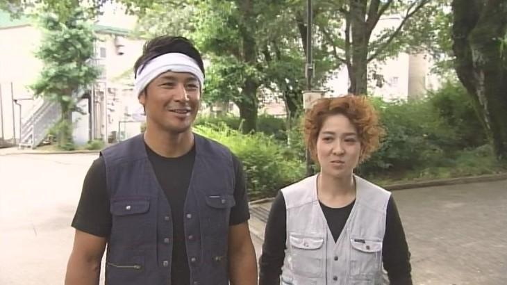 「大改造!!劇的ビフォーアフターSP」に出演する(左から)魔裟斗、尼神インター渚。(c)ABC