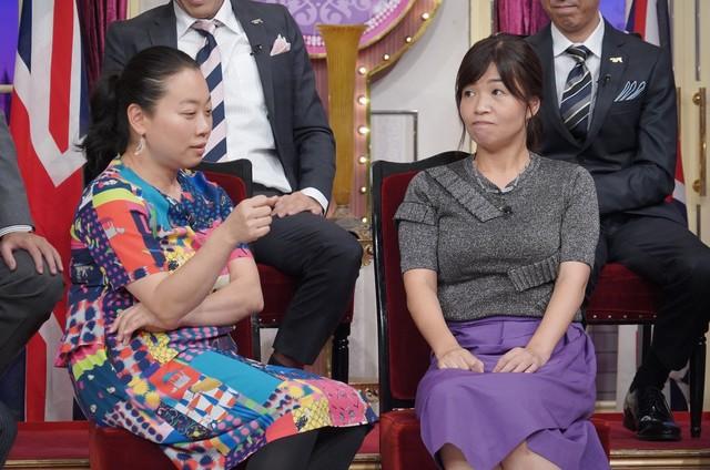 左からいとうあさこ、大久保佳代子。(c)日本テレビ