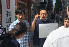 「うろおぼえ探偵社」のロケの様子。(c)広島ホームテレビ