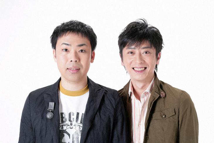 「平成30年度 NHK新人お笑い大賞」司会のフットボールアワー。
