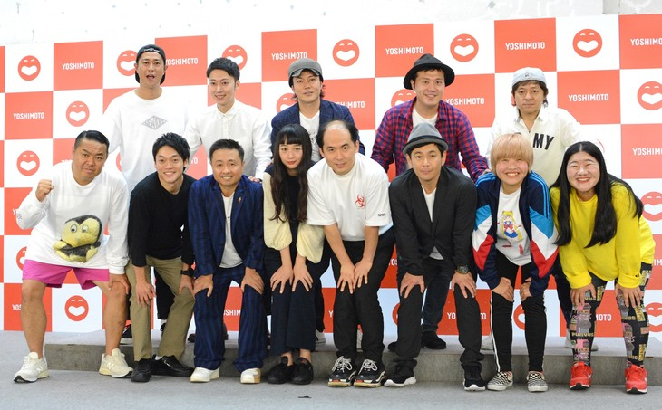 吉本坂46のメジャーデビューシングルの選抜メンバー。