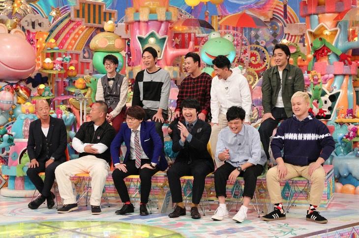 「アメトーーク!」の「相方向上心ない芸人」企画に出演する5組。(c)テレビ朝日